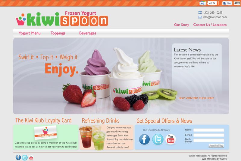 kiwispoon-website