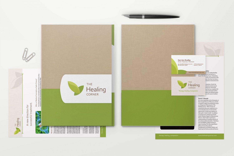 The Healing Corner Brand Kit designed by Krative