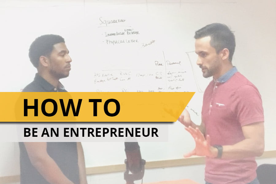 How to be an entrepreneur and provide value