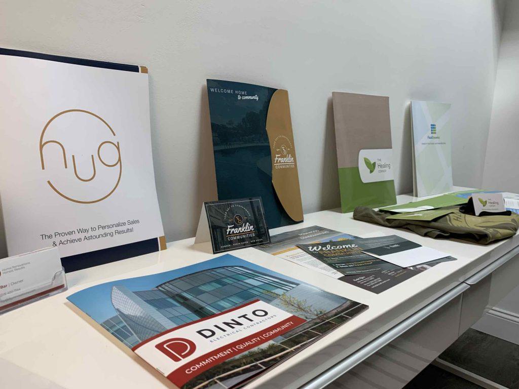 Krative Print Designs on display