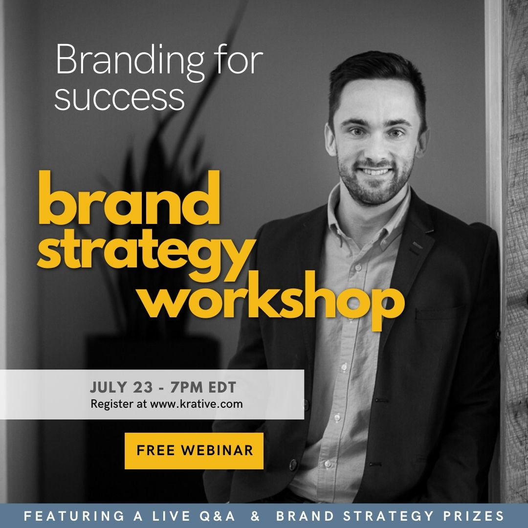 branding for success a brand strategy workshop with Rick Callahan of Krative