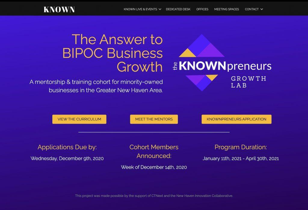 Knownpreneurs Website