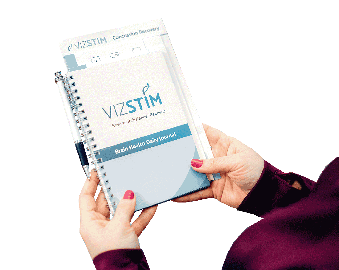 VIZSTIM branding designed by Krative