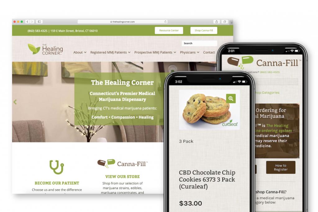 The Healing Corner Website & Branding Design